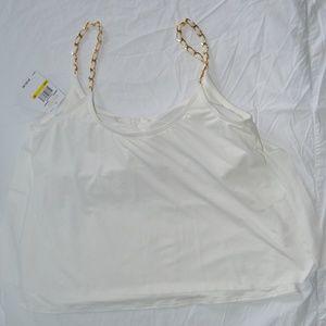 Women's Safari Solids Layed Tankini Top